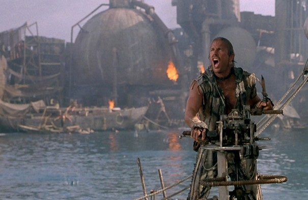 Kevin Costner, ese hombre con branquias.
